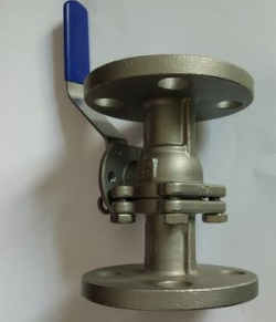Hastelloy C276 2 Piece Flanged Ball Valve