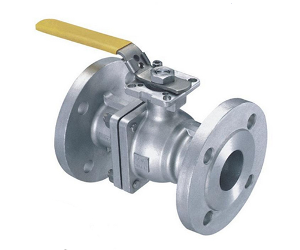 Monel 400 2 Piece Flanged Ball Valve